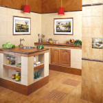 Дизайнерский подход к полу на кухне