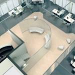 Особенности стеклянных перегородок в офисе