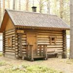 Как построить деревянную баню