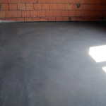 Заливка пола цементно-песчаной стяжкой