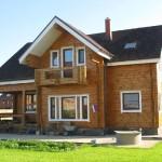 Брусчатый дом и все его преимущества
