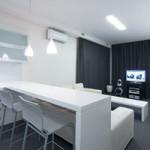 Наполнение кухни в квартире-студии