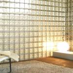 Применение и укладка стеклоблоков