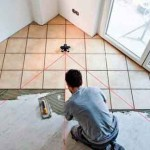 Полы из керамической плитки: настилка и ремонт