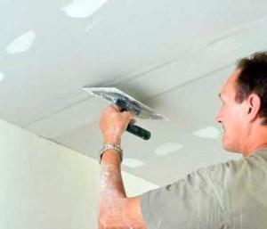 Потолок: как самостоятельно подготовить к покраске