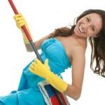 Приятное занятие – уборка дома