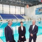 В Москве  подошло к концу строительство нового центра синхронного плавания