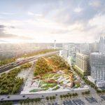 В столице стартовало строительство двух новых парков