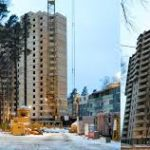 В Химках подошло к концу строительство 25 этажно жилого дома
